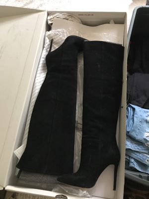 ALDO Black Suede Over The Knee Boots for Sale in Ashburn, VA