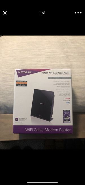 Netgear WiFi Cable Modem & Router for Sale in Chandler, AZ