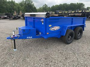 2021 10' BRI-MAR BUMPER PULL LOW PROFILE DUMP TRAILER for Sale in North Jackson, OH