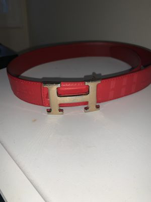 Red Hermès Belt for Sale in Passaic, NJ
