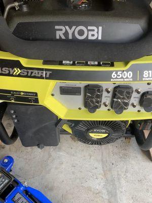 Ryobi generator 6500 running watt for Sale in FL, US