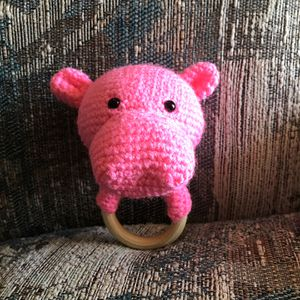 Crocheted Baby Hippo Rattles for Sale in Fresno, CA