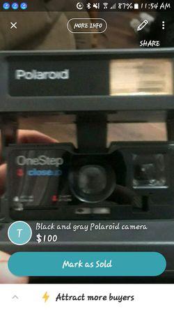 100 type film camera for Sale in Christoval,  TX