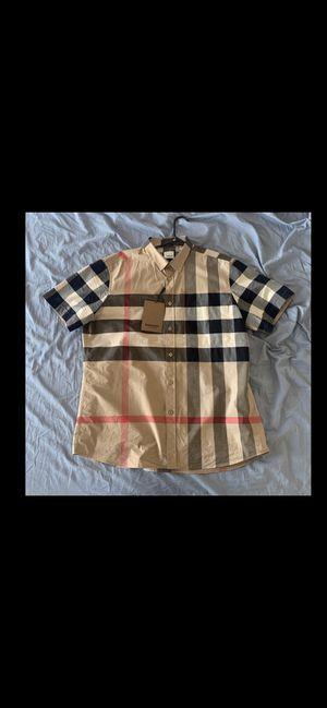 Burberry shirt xxl for Sale in Philadelphia, PA