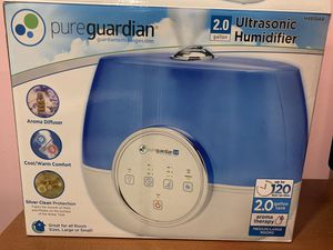 Pure guardian ultrasonic humidifier - 2.0 gallon for Sale in Marlboro Township, NJ