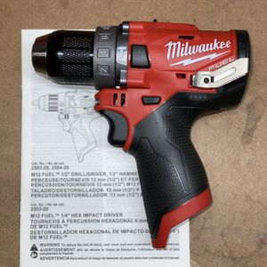 Milwaukee M12 Fuel Hammer Drill. Tool Only for Sale in Elmwood Park, IL