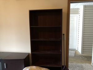 2 Black book shelves for Sale in Springfield, MO
