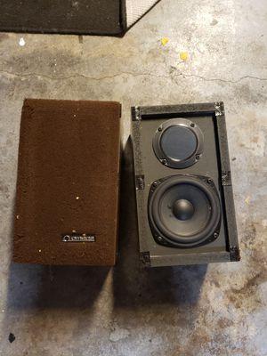 Omega studio monitor speakers vintage keywords receiver pioneer for Sale in Sugar Land, TX