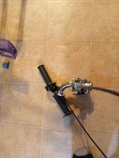 Minibike / gokart throttle setup for Sale in South Gate, CA
