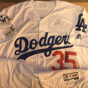 LA Dodgers Bellinger Baseball Jersey WS for Sale in Chicago, IL