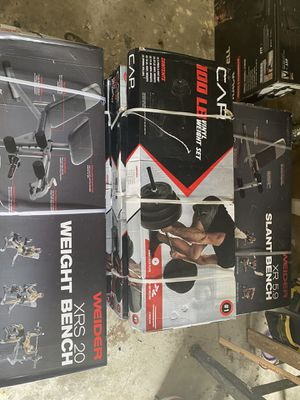 Work out equipment for Sale in Dallas, TX