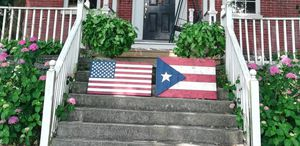 Wooden flags decorations for Sale in Lebanon, PA