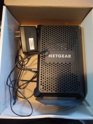 Netgear cable modem for Sale in Dallas, TX