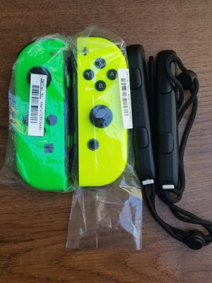 RARE Mario Party Nintendo Switch Neon Green and Yellow Joy-Cons Like New for Sale in Rosemead, CA