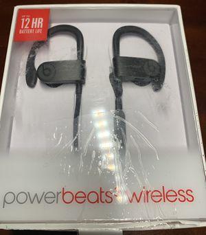 Beats By Dre PowerBeats3 Wireless (Black) for Sale in Miami, FL