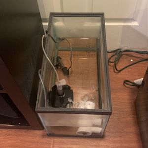 10g Aquarium Tank- Everything in picture included for Sale in Hacienda Heights, CA