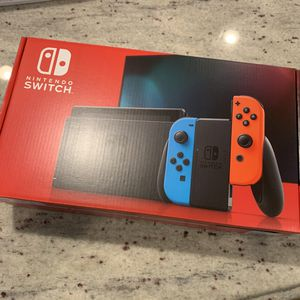 Nintendo Switch - Neon Blue/Neon Red for Sale in Newton, MA