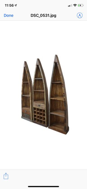 Reclaim wood corner shelf for Sale in Tracy, CA