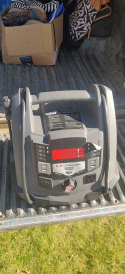 Schumacher SJ1289 400-watt 1200a battery powered portable power station for Sale in Wenatchee,  WA