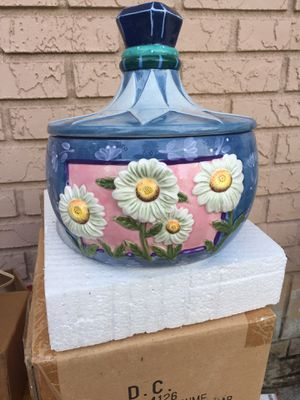 PERFUME STYLE COOKIE JAR NEVER USED for Sale in Tampa, FL