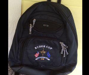 USA PGA Europe Ryder Cup Oakland Hills 2004 Datrek Golf Backpack sack VGC for Sale in Sewall's Point, FL