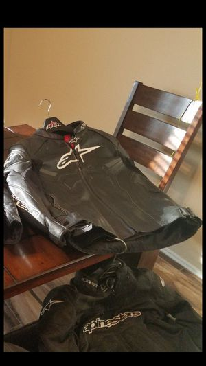 Alpinestar leather riding jacket for Sale in Austin, TX