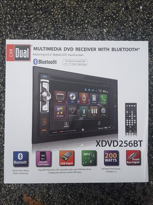 NEW! 6.2 DVD media receiver for Sale in York, PA
