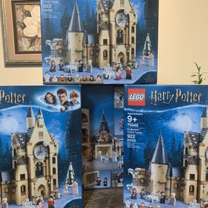4 Harry Potter Clock Tower Lego Sets for Sale in Sykesville, MD