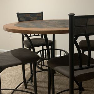 Bistro Table + 4 Chairs for Sale in Garner, NC