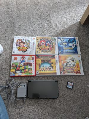 Nintendo 3DS XL bundle for Sale in Germantown, MD