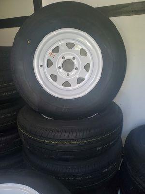 Trailer tires 225 75 R15 brand new for Sale in Jacksonville, FL