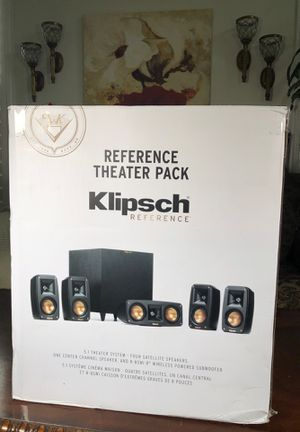 Klipsch reference theatre pack 5.1 theatre system for Sale in San Diego, CA