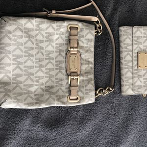 Mk Crossbody Purse And Mk Wallet for Sale in Everett, WA