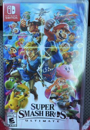 Nintendo Switch Super Smash Bros Ultimate for Sale in Lynwood, CA