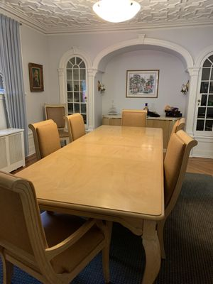 Stunning Solid Light Wood Dining Room Set for Sale in Queens, NY