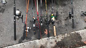 2 fishing poles for Sale in Seattle, WA