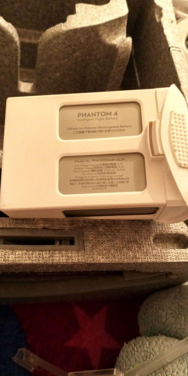 Phantom 4 intelligent flight battery