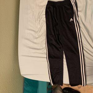 Adidas Pants, Black, Waist Size 14-16 for Sale in Aptos, CA