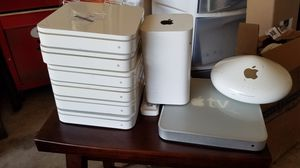 Routers and apple TV no plugs or wires for Sale in Fresno, CA