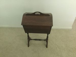 Antique sewing cabinet for Sale in Brockton, MA