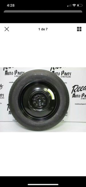 Oem fx35 4 rims and tire and spare tire for sale and accepted trade for Sale in Thomaston, CT