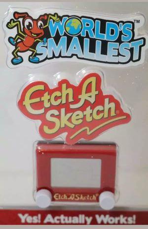 Worlds Smallest Etch A Sketch for Sale in Nashville, TN