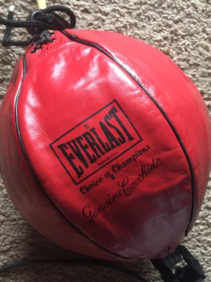 Punching Bag Double End Boxing Speed Ball Focus Training for Sale in Kent, WA