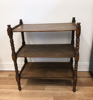 Cute accent table: great project piece for Sale in Cary, NC
