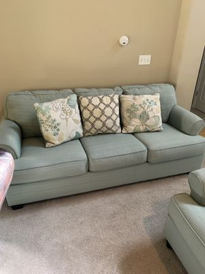 Teal couch set for Sale in Fresno, CA