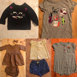 12 month old baby girl outfits for Sale in Vancouver, WA
