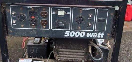 Dayton Professional Duty Generator for Sale in Lake Oswego,  OR