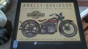 Harley Davidson motorcycle puzzle for Sale in Monroe, WA