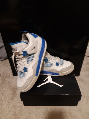 Jordan 4 military blue for Sale in Anchorage, AK