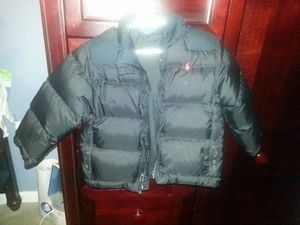 Polo down winter jacket size 3 years old for Sale in Vienna, VA